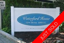 White Rock Condo for sale: Waterford House 1 Bdrm + Den 1,066 sq.ft. (Listed 2017-07-20)